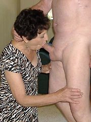 drunk granny gets nuisance fucked
