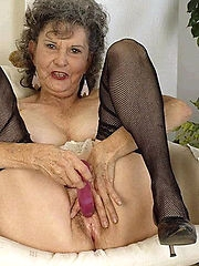 dirty granny loving her holes crammed