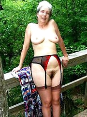 grannies unrefined fucked in black stockings