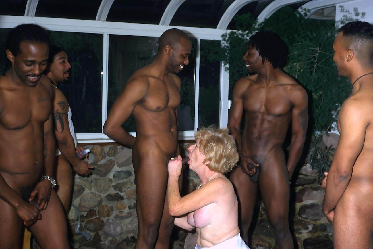 Really. All grandma gangbang tube