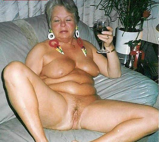Cute mature and naked