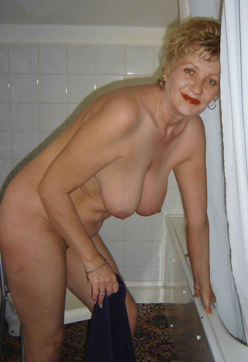 Real old grannies naked